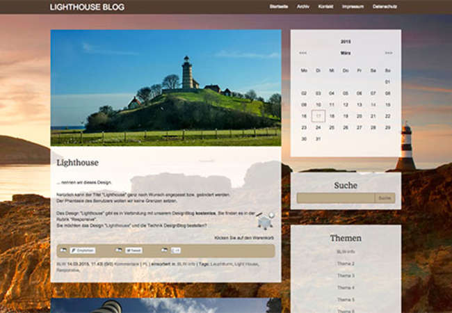 Lighthouse (responsive)