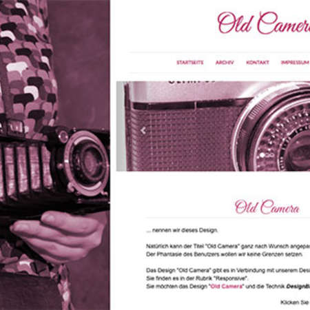 Theme: Old Camera (responsive)